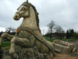 Kůň s vozem