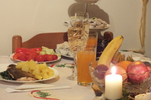 štědrovečerní  stůl