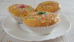 pomerančové muffinky ke Dni dětí