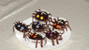 """""""Pavoučí muffinky"""" na halloween"""
