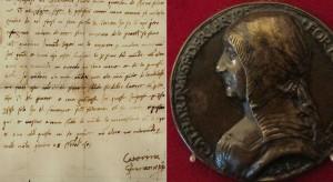 Dopis Cateriny jejímu synovi Ottavianu Riariovi