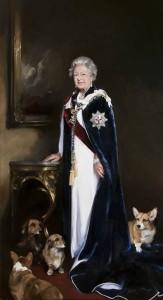 Královna Alžběta II. a její psi