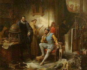 Rudolf II. a Tycho Brahe