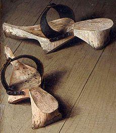 dřeváky z roku 1430