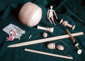 hračky z období Tudorovců