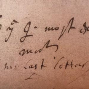 poslední milostný dopis Alžběty I. Dudleymu