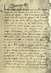 korespondence Jindřicha VIII.