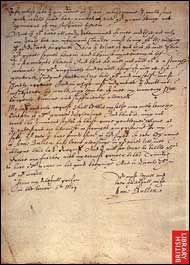 dopis Anny Boleynové Jindřichovi z vězení z Toweru