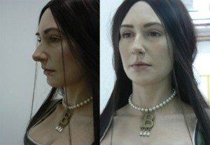 obličej Anny Boleynové