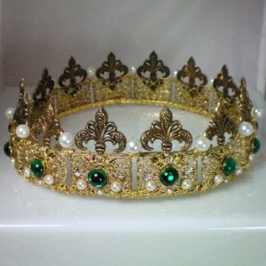 perlová koruna Anny Boleynové