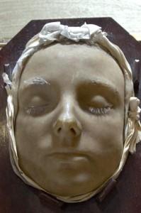 posmrtná maska Anny