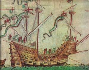 vlajková loď Mary Rose