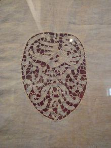 vlastnoruční výšivka Anny Boleynové