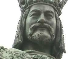 Karel IV. socha