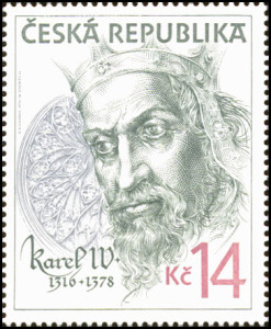Oldřich Kulhánek - první portrét Karla IV. s jizvou